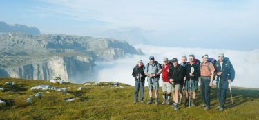 Gruppenreise in den Dolomiten