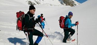 Schneeschuhwandern am Nebelhorn