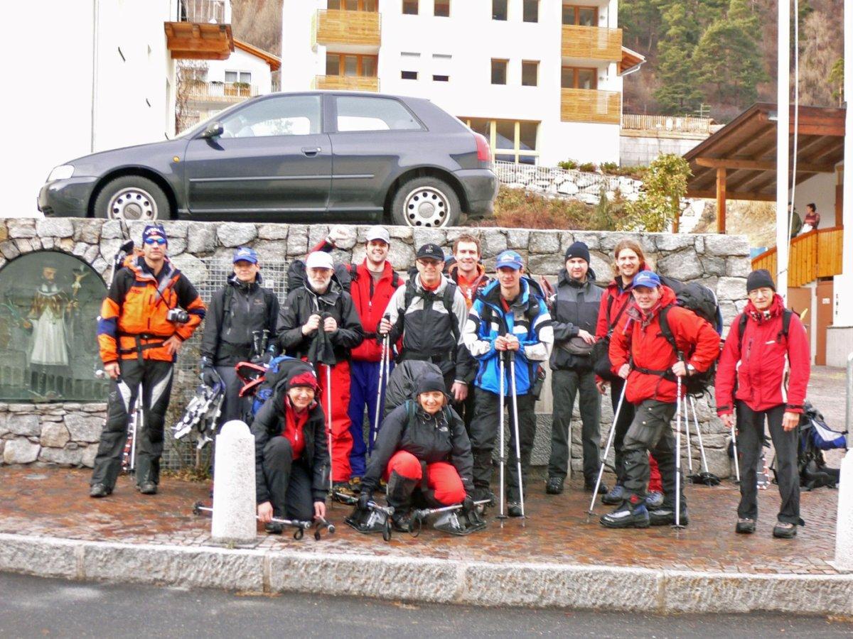 6. Tag - Gratulation, die Alpenüberquerung ist geschafft, Ankunft in Taufers im Münstertal und Rückfahrt nach Oberstdorf