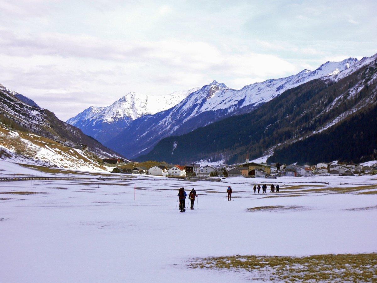 3. Tag - Galtür im hinteren Paznauntal (1.582 m), Übernachtung in einer Pension