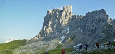 5. Tag - Entlang dem Prättigauer Höhenweg unterhalb der mächtigen Südwände des Rätikongebirges
