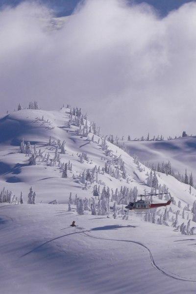 Heli-Skiing CMH Monashee
