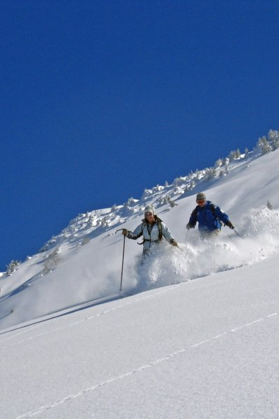 Tiefschneeabfahrt Fellbühl-Fellhorn