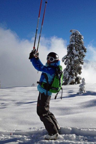 Hörnertour mit Ski