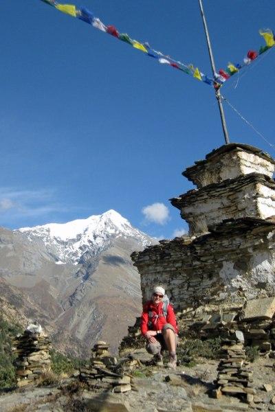 Auf dem Annapurnatrek in Nepal