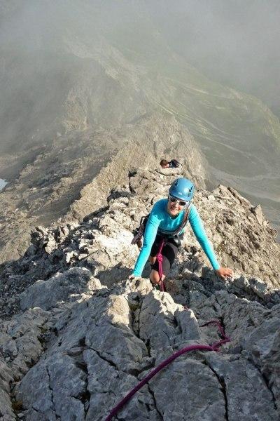 Im Aufstieg zur Trettach