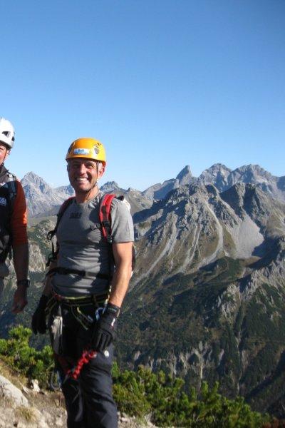 Zweiländer-Klettersteig an der Kanzelwand