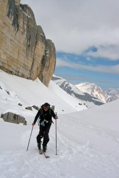 Auf Skitour im Naturpark Senes-Fanes, Dolomiten
