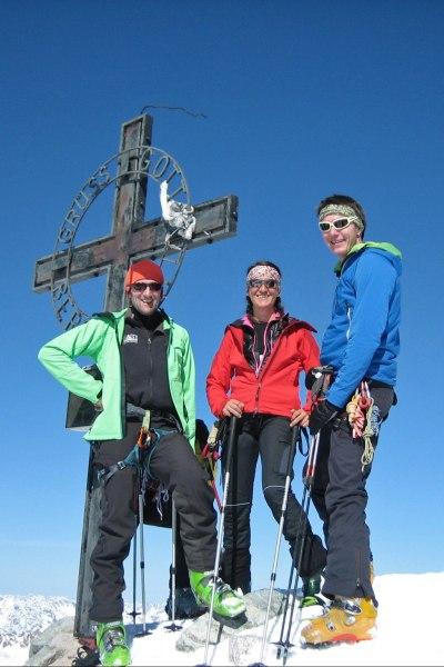 Gipfelglück Ruderhofspitze