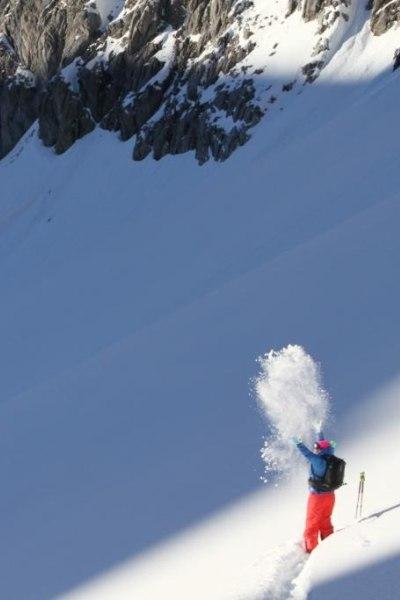 Auf Skitour am Arlberg