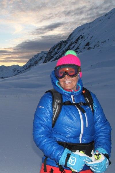 Auf Skitour am Grubenjoch am Arlberg