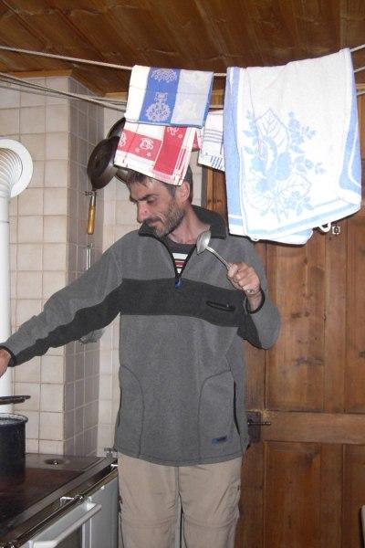 Selbsversorger in der Hüttenküche