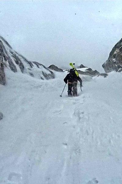 Skitour in Bergell
