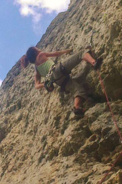 Klettern im Labertal Frankenjura