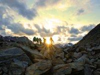 Sonnenuntergang an der Braunschweiger Hütte