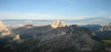 Dolomiten Höhenweg Nr. 1 mit Gepäcktransport