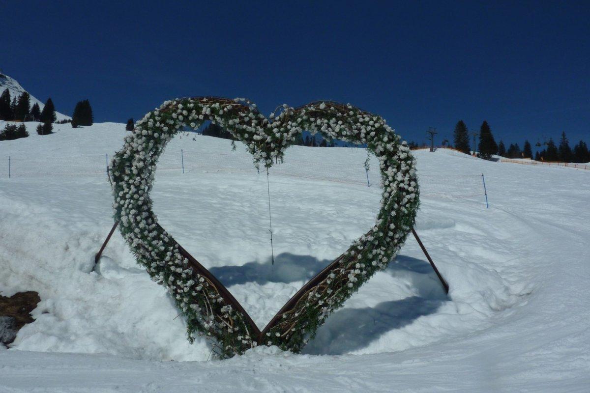 2. Tag - Im Skigebiet von Lech