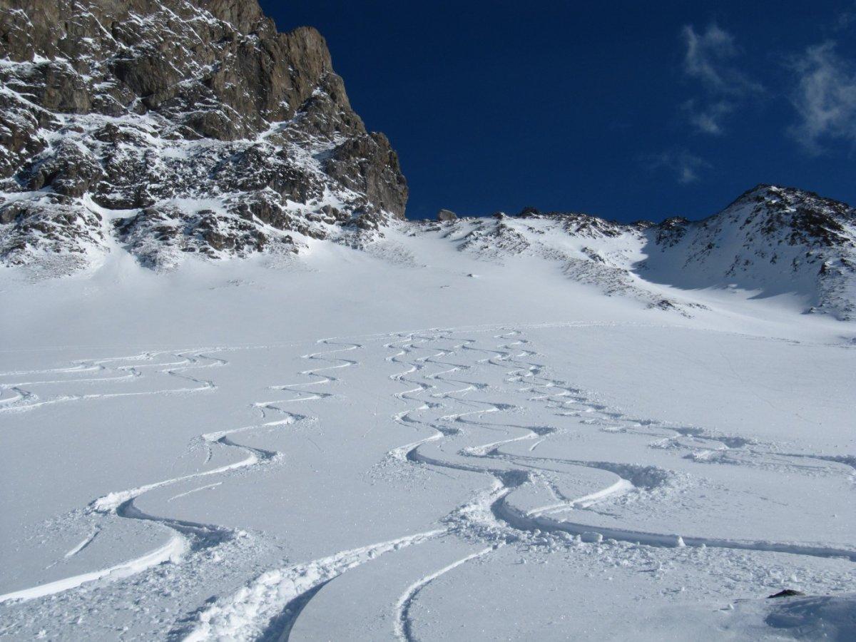 2. Tag - Traumhafte Tiefschneehänge am Arlberg