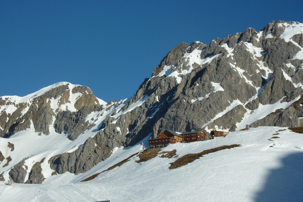 2. Tag - Die Ulmer Hütte auf 2.288 m ist unsere zweite Übernachtung