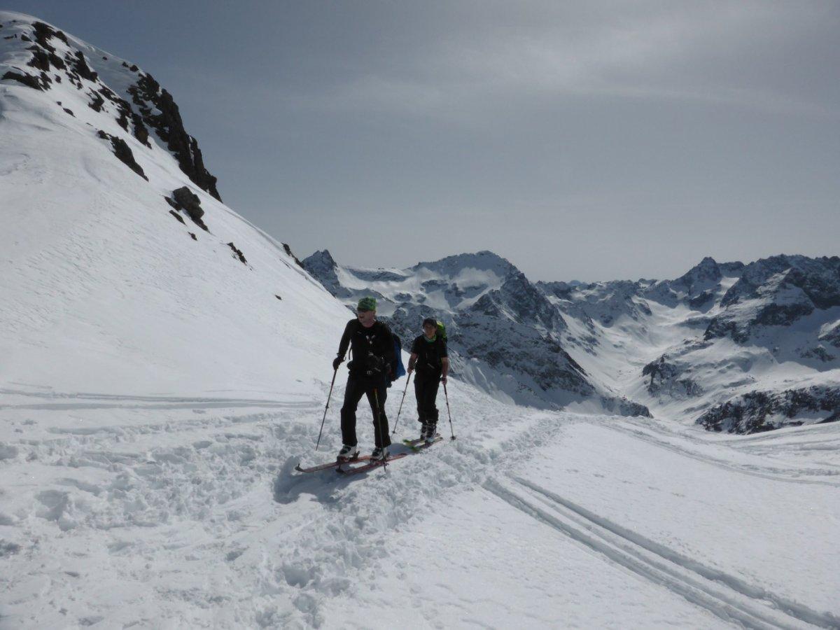 3. Tag - Die letzten Meter vor der Roßfallscharte (2732 m)
