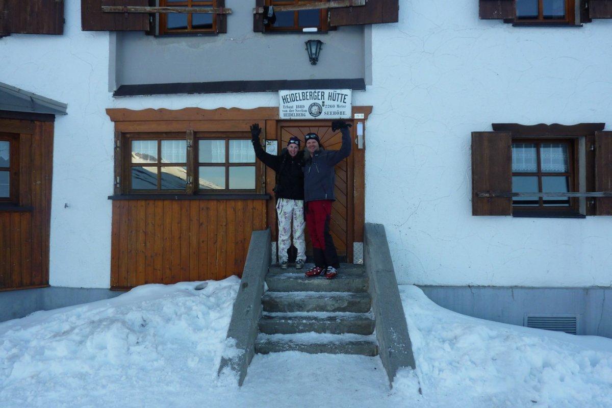 3. Tag - Die Heidelberger Hütte (2.260 m), unsere dritte Übernachtung ist erreicht
