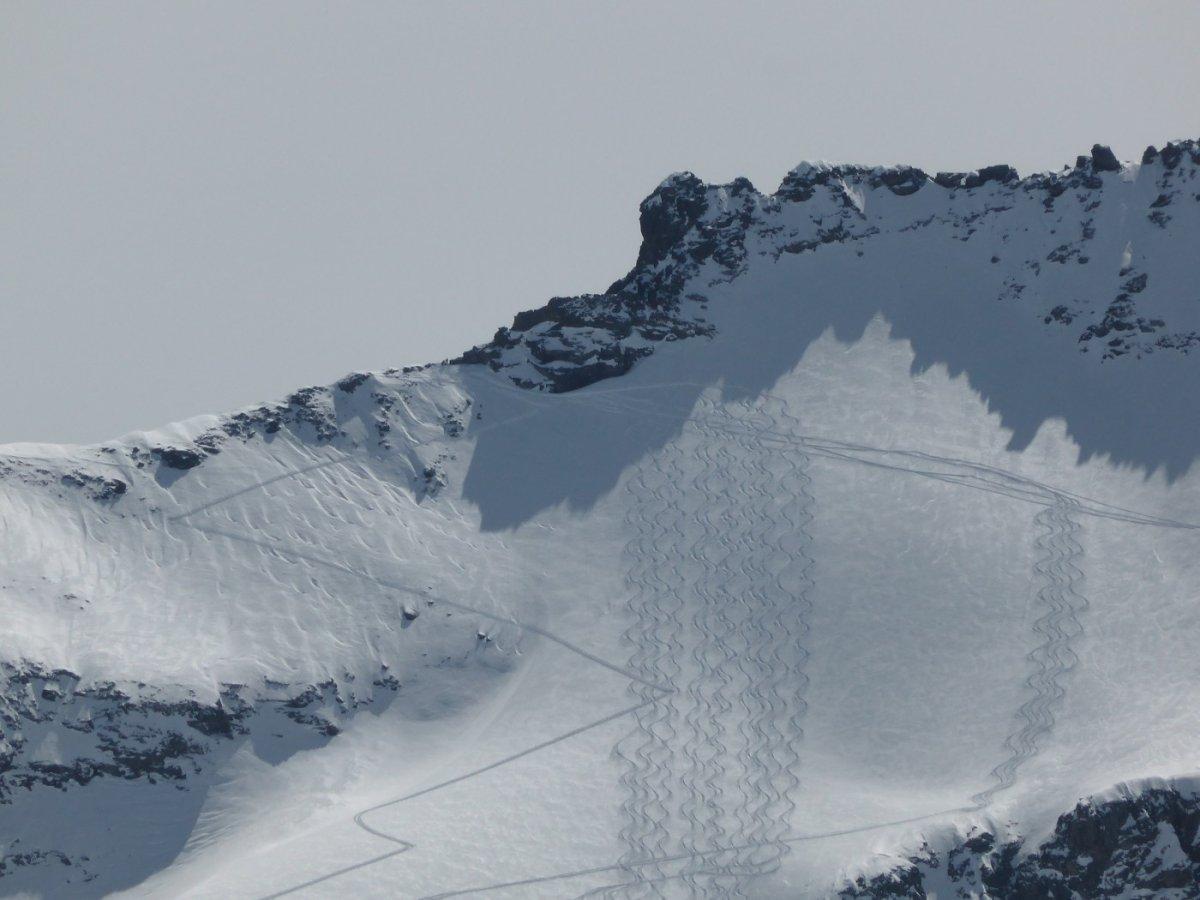 3. Tag - Jede Skitour hinterlässt Spuren...