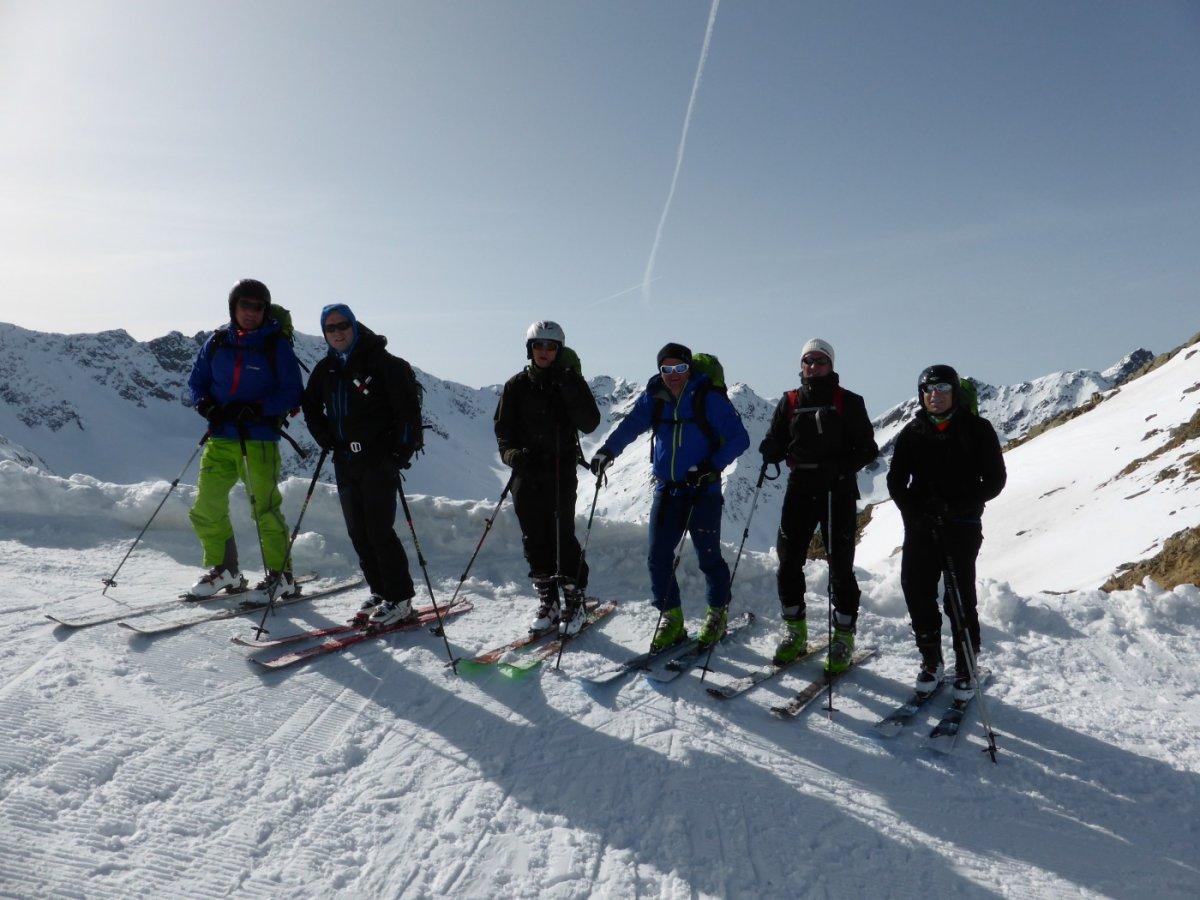 3. Tag - Nach dem zweiten Aufstieg zum Lattejoch (2.650 m) geht es nur noch bergab