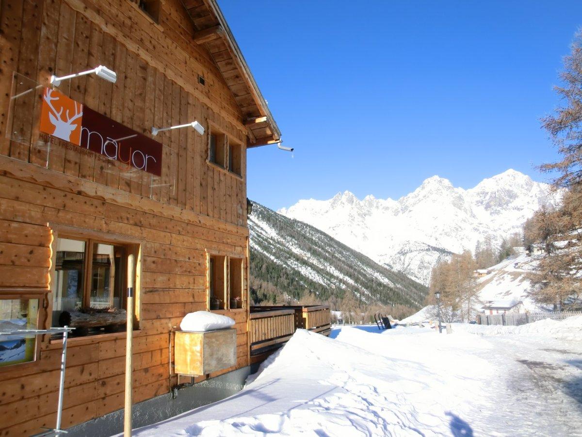 4.Tag - Das Gasthaus Mayor ist unsere komfortable Unterkunft im Val S-charl