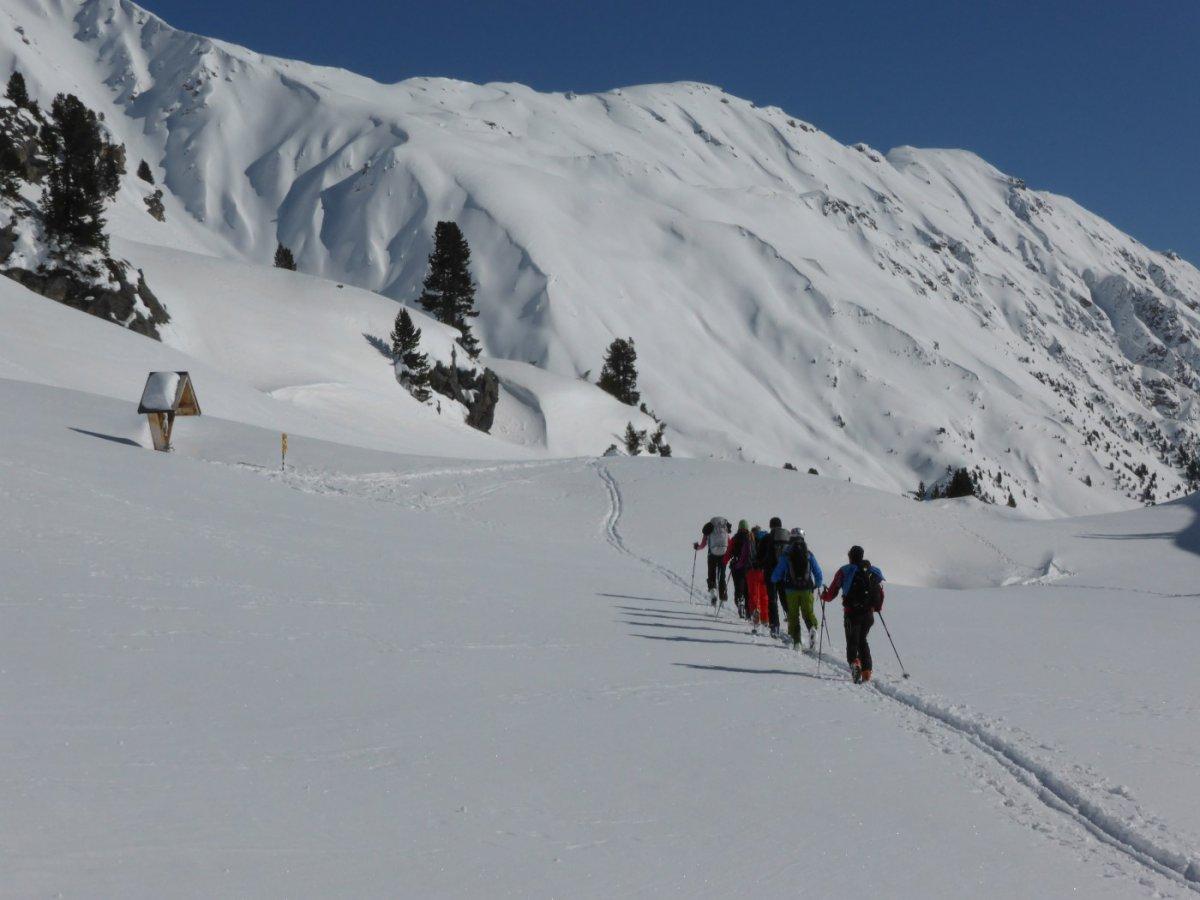 5.Tag - Der einsame Übergang ins Val d'Avigna bildet den letzten Abschnitt unserer Alpenüberquerung