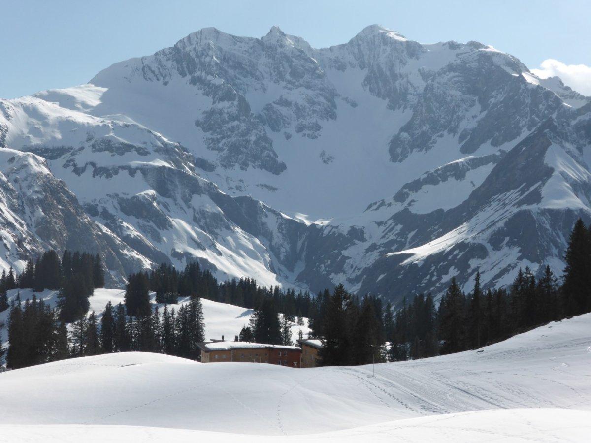 1. Tag - Gleich haben wir die erste Übernachtung erreicht, das komfortable Hotel Körbersee (1.656 m)