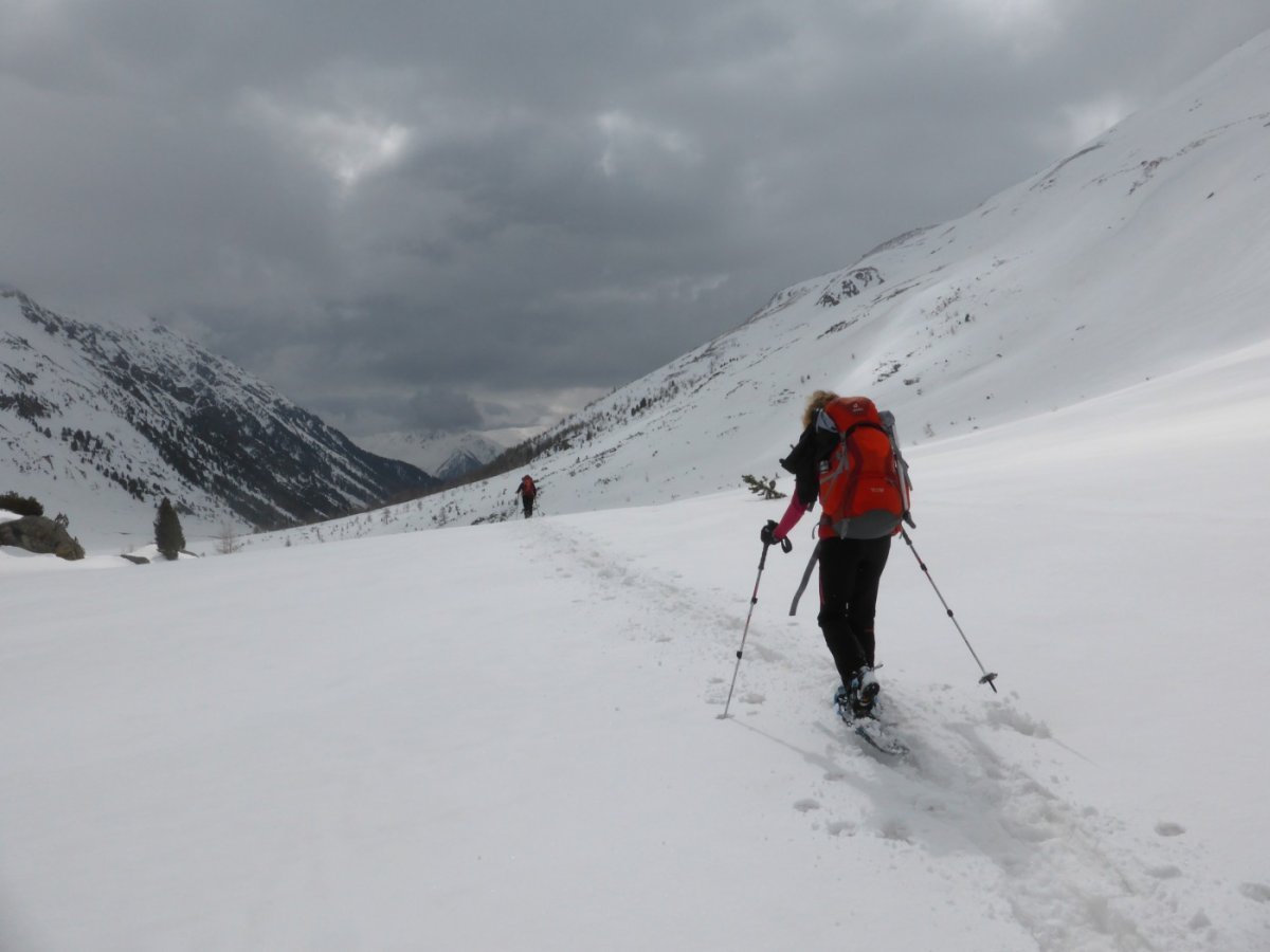 6. Tag - Der Abstieg durch das Val d'Avigna bildet den letzten Abschnitt dieser sehr anspruchsvollen Alpenüberquerung
