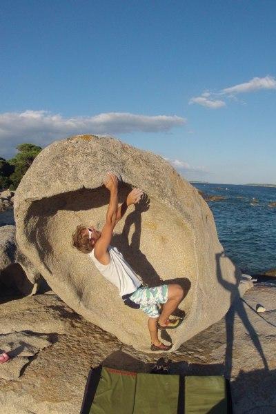 Bouldern auf Korsika