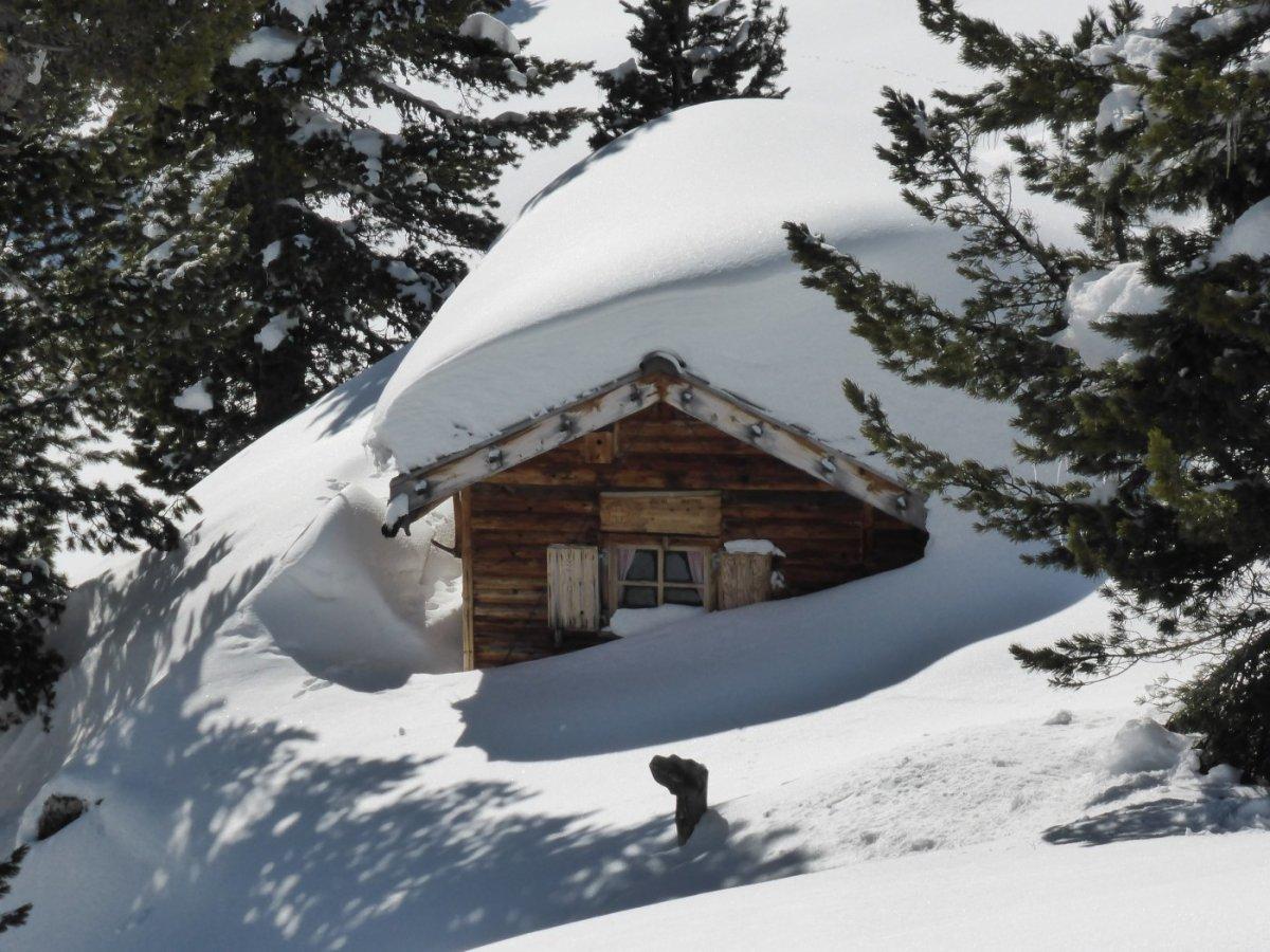 6. Tag - Die versteckte Jöchl-Hütte lädt zum Verweilen ein