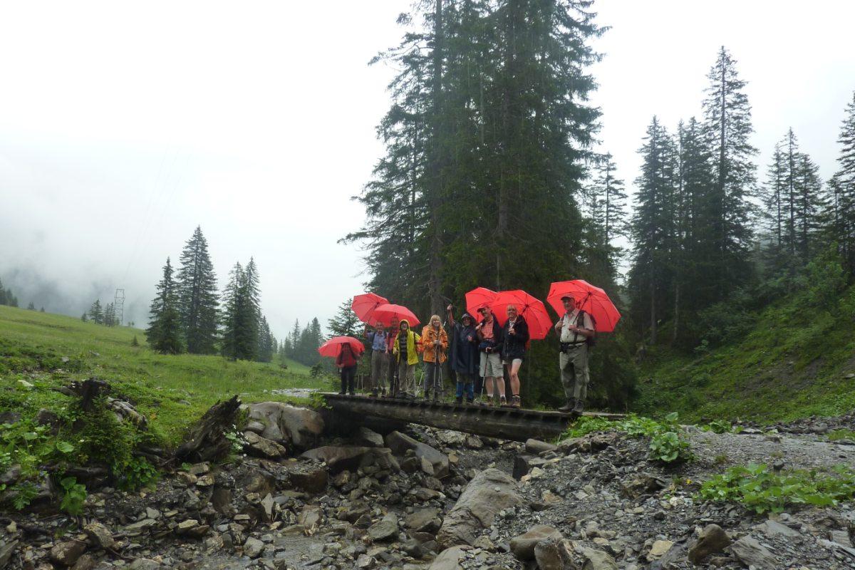 1. Tag - Auf dem Naturlehrpfad durch das Schwarzwassertal startet unsere gelenkschonende Alpenüberquerung ohne Talabstieg