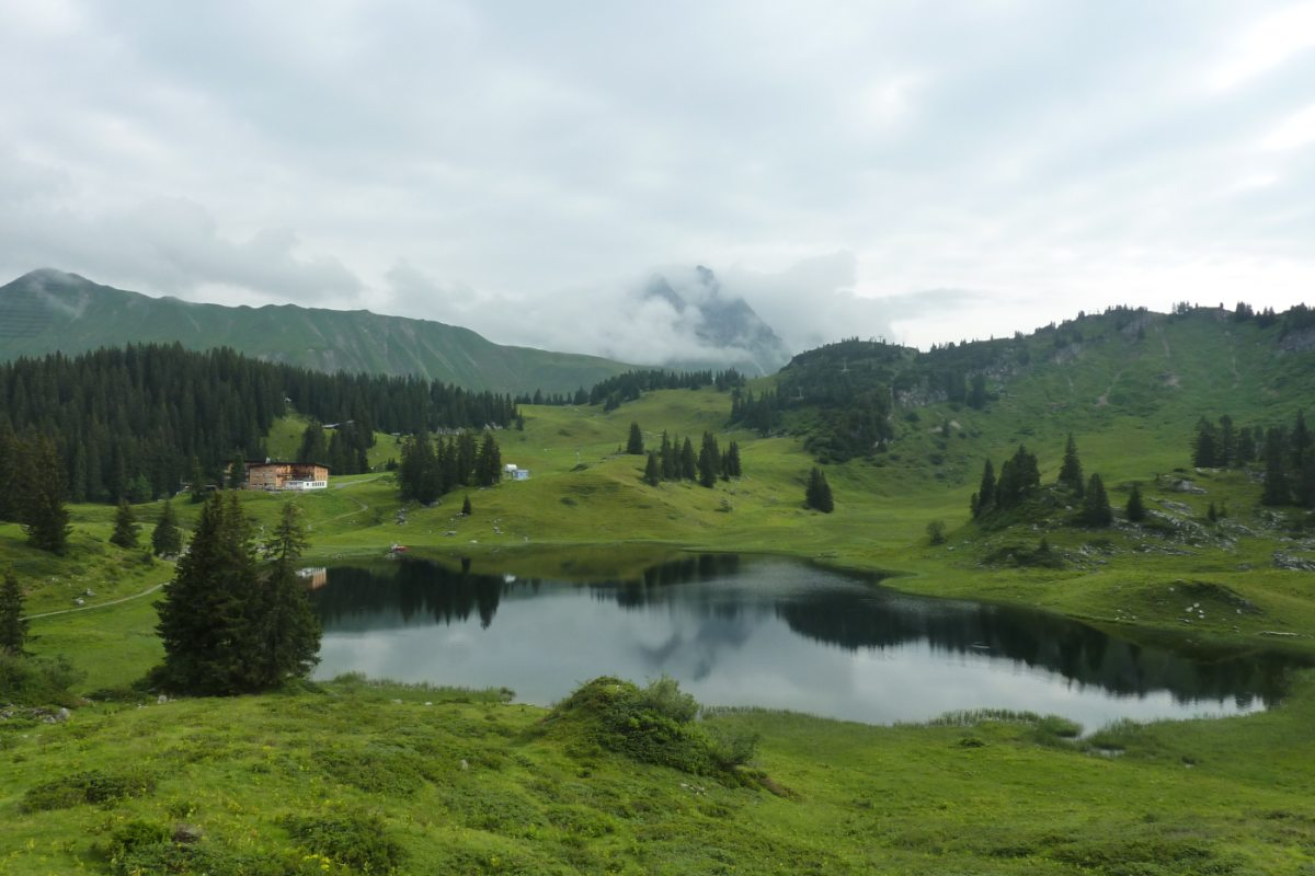 2. Tag - Start zur zweiten Etappe vom Körbersee zum Arlberg