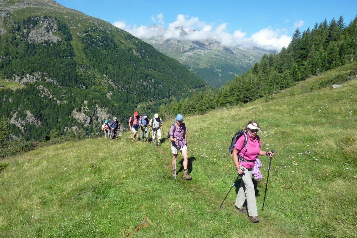 5. Tag - Von Zwieselstein zum Timmelsjoch steigen wir über einen Wiesenpfad auf