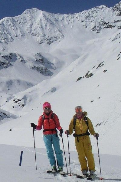 Frühjahrsskitour am Arlberg