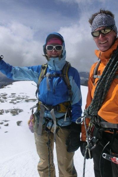 Geiler Gipfel im Aostatal