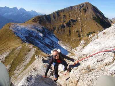 Schwere Bergwege