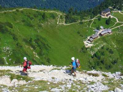 Mittelschwere Bergwege