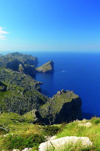 Wanderung um den Puig Roig Serra de Tramuntana, Mallorca