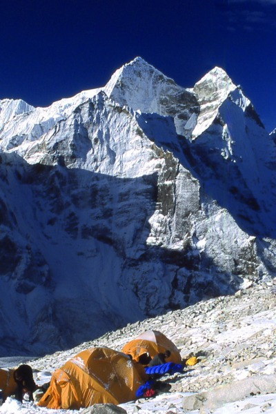 Lager an der Ama Dablam (6.856 m) Solo Khumbu, Nepal