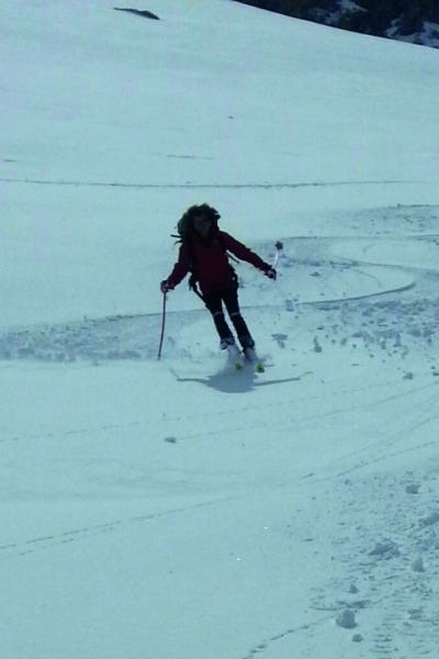Meine große Leidenschaft Skitouren Kreuzkopf (2.288 m), Allgäuer Alpen