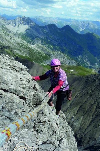 Überschreitung der Trettachspitze , Bergheimat Allgäuer Alpen