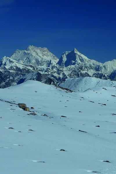 Kanchenjunga und Jannu, Nepal