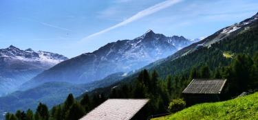 Traumhafte Landschaft in den Ötztaler Alpen