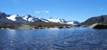 Kristallklare Bergseen in den Ötztaler Alpen