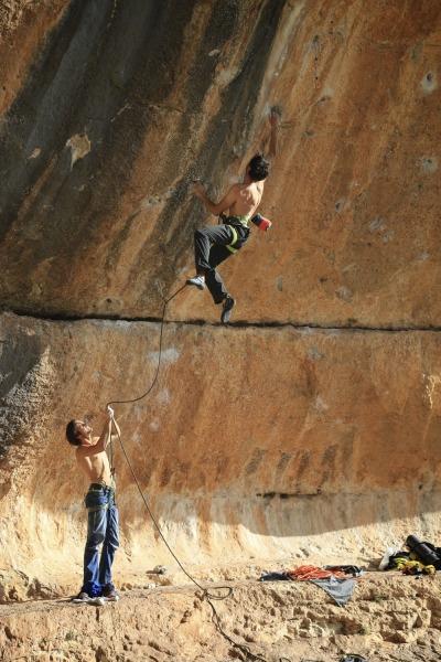 Sportlettern Siurana, Spanien