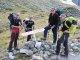5. Tag - Kurze Fotopause beim Aufstieg zum Plan du Bertol