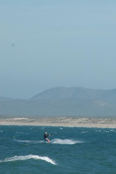 Kite Surfen La Ventana Mexiko